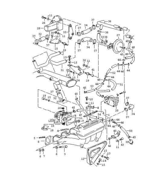 1978 Porsche 924 Vacuum Diagram