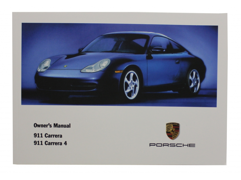 Owners Manual 2001 9
