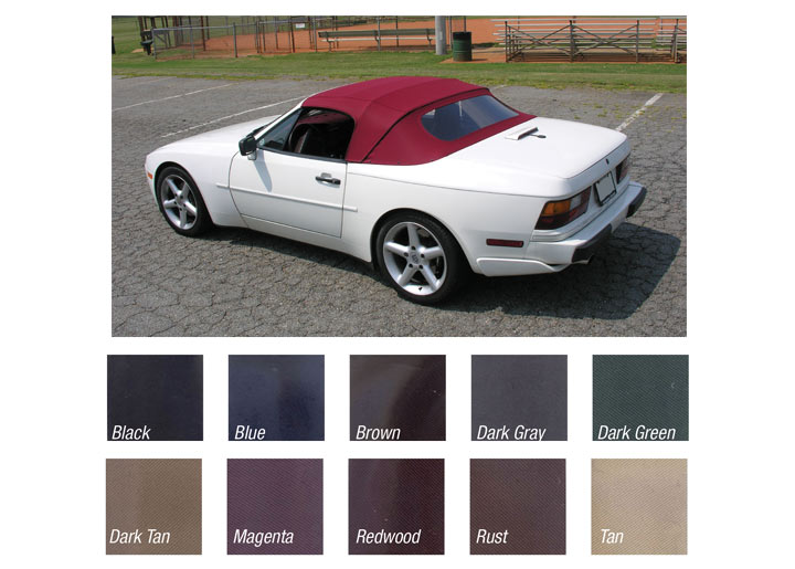 Porsche 944 1989 91 Convertible And Targa Tops Body Parts
