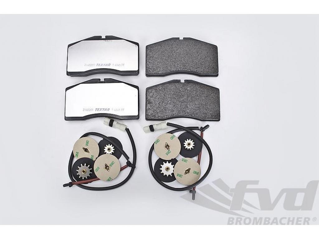 For Porsche 911 Carrera 4S Turbo 96-98 Front Disc Brake Pad Set Textar