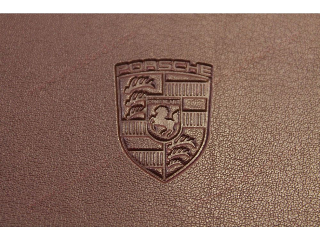 Porsche 356 911 912 914 944 928 embossed owners manual cover nice ...