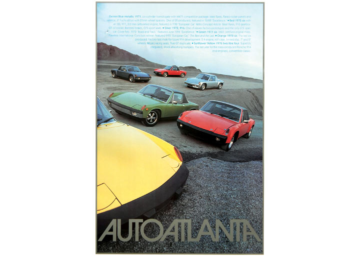 Porsche 914 World Headquarters Poster Results