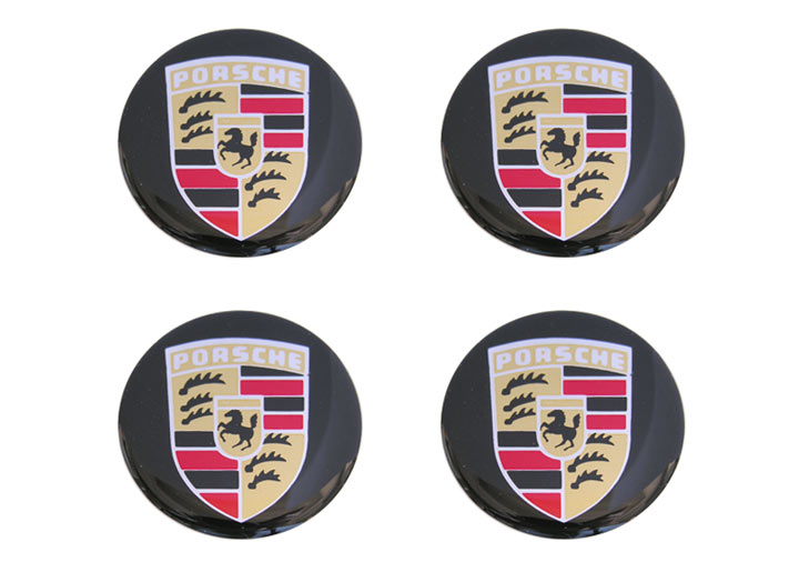 Porsche Emblems Decals And Stickers Wheels Center Caps
